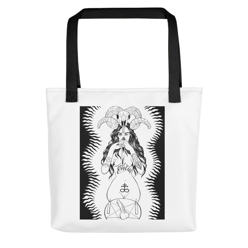 Bitchez be evil Tote bag
