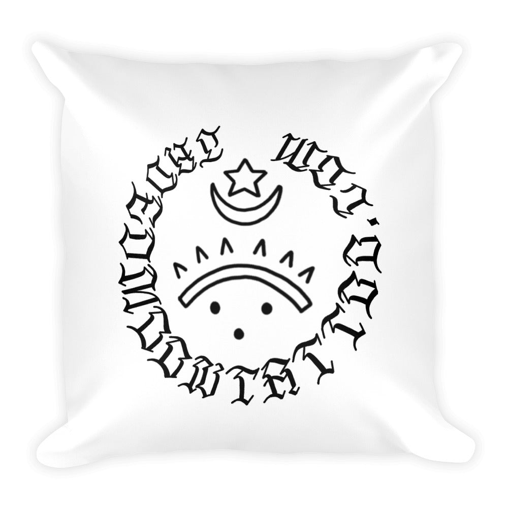 Priorities Square Pillow