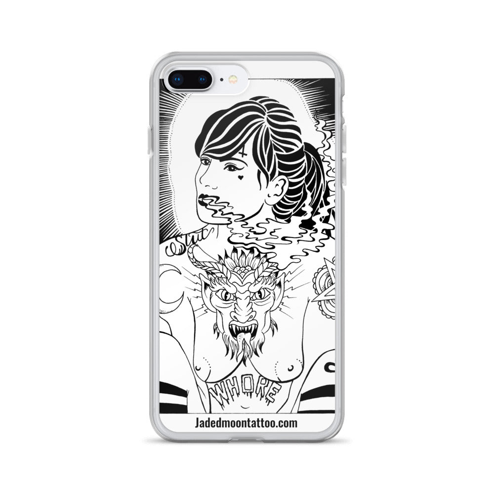 Whore iPhone Case