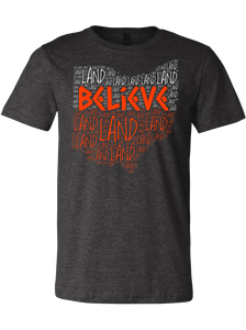 Believe-Land Cleveland Football Tee