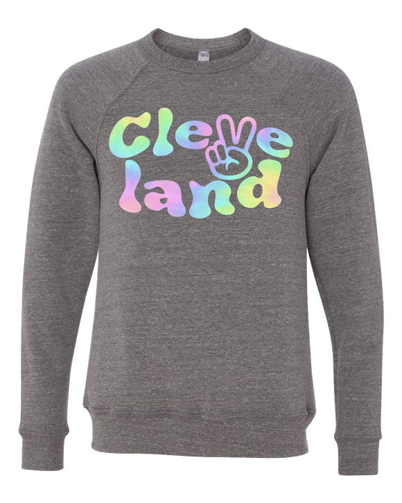 Cleveland Peace Crewneck Sweater