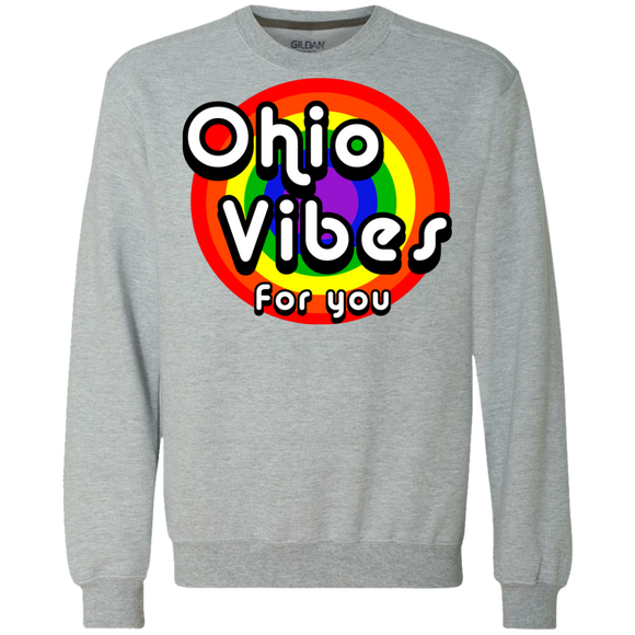 Retro Ohio Vibes For You Crewneck Sweatshirt