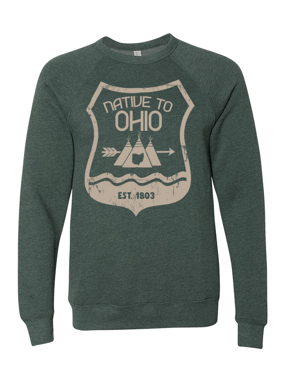 Native Ohio Crewneck Sweater