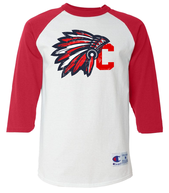 Tribal Chief C Baseball Tee