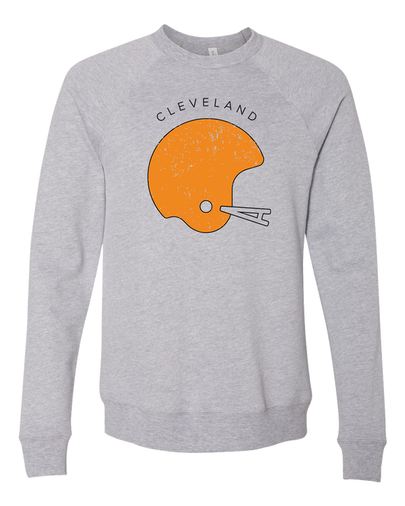 Cleveland Football Old-School Crewneck Sweater