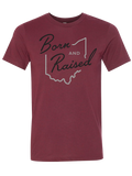 Born And Raised Ohio Tee