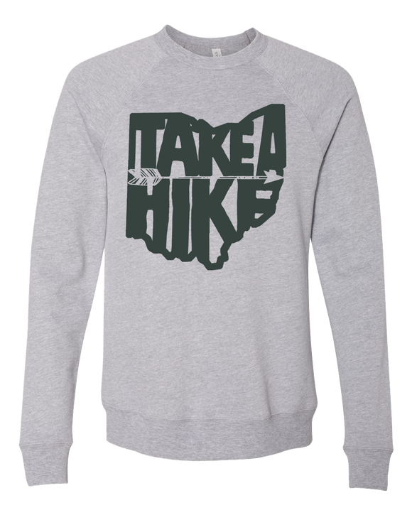 Take A Hike Ohio Crewneck Sweater