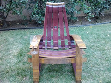 Adirondack chair front, right wine holder