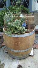 Wine Barrel - 2-level planter 3