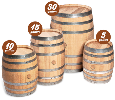 New Whiskey Small Barrels