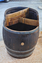 Wine Barrel - 3-level planter