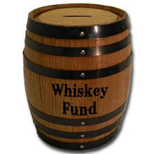 Barrel Bank - engraved