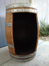 Wine Barrel Cabinet Open Door no shelf