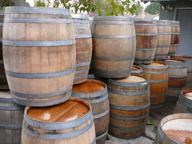 Wine Barrels - Bordeaux