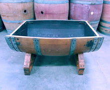 Wine Barrel Coffee Table Base