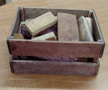 Wine Tank Crate with Wine-Soaked Oak Pieces