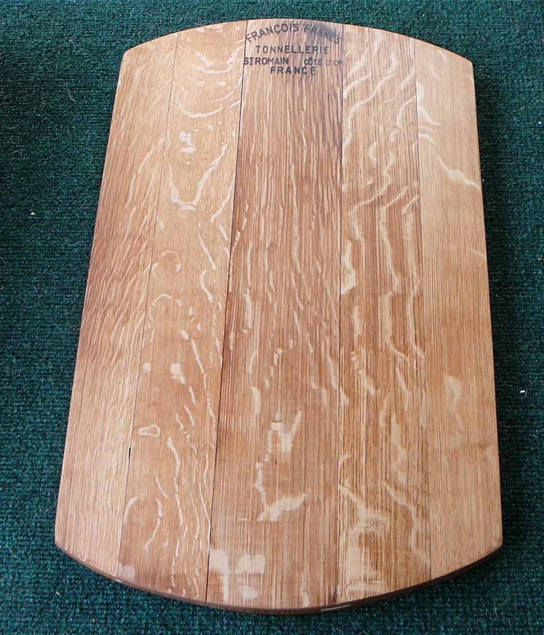 Wine Barrel Head Cutting or Bread Board