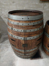 Double Door Wine Barrel Cabinet