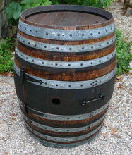 Wine Barrel DIY Fire Pit Closed
