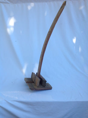 Rustic Wine Barrel Stave Fermentation Push Down Tool