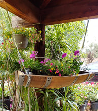 Wine Barrel Garden Planter