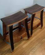 Hoffman Bar Bench Pair