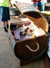 Wine Barrel Ice Chest - custom customer