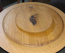 Wine Barrel Head Lazy Susan Set