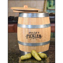Pickle Barrel - engraved
