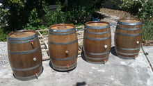 Wine Barrels Chained Together