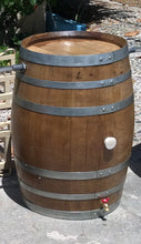 Wine Barrels Chained Middle
