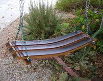 Wine Barrel Swing - 3 Stave