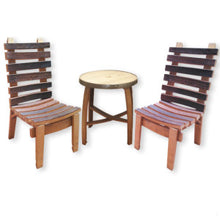 Wine Barrel Child's Craft Table and Chairs Set
