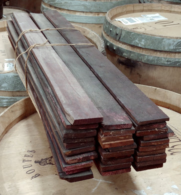 Wine Soaked Tank Staves Bundle of 30