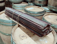 Wine Soaked Tank Staves Bundled