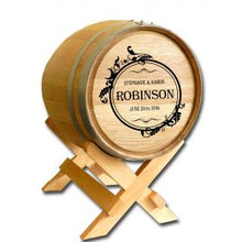 Gift Card Wine Barrel Personalized