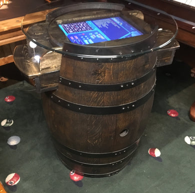 Ebony Arcade Wine Barrel