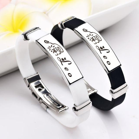 Men/Women 12 Constellations Fashion Bracelets Casual Wear - ZODIAC SIGNS