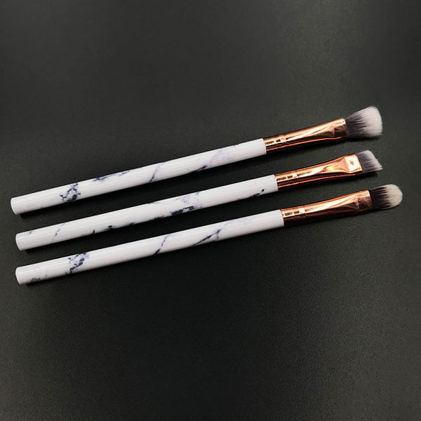 10pcs Professional Marble Makeup Brushes With or Without case