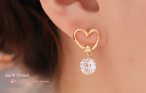 fashion luxury charm drop  earrings