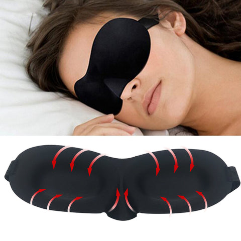 3D Soft Travelling Eye Mask