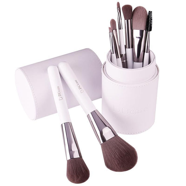 8 Pcs Pro Styling Makeup Brush Set