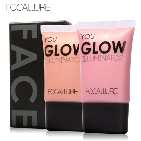 Glow Illuminator Shimmering Skin Perfection® Liquid Highlighter by Focallure #3 Pure Gold