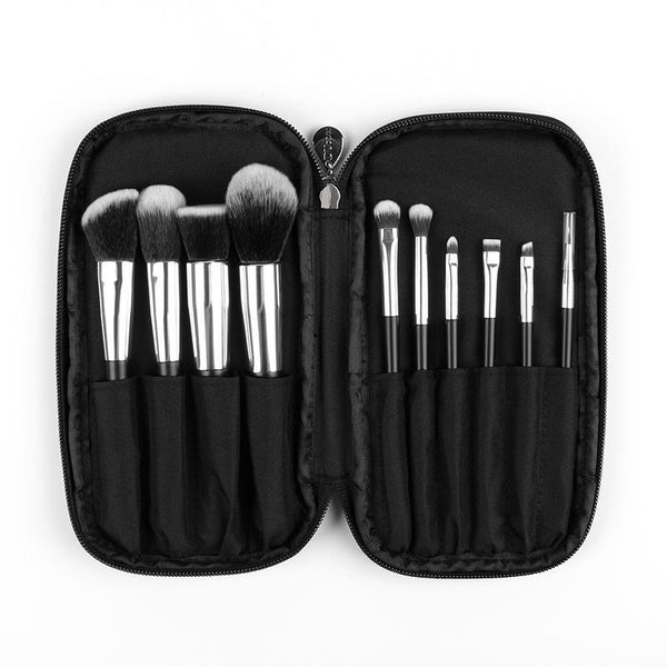 10 Pcs Synthetic Hair Cosmetic Brush Set