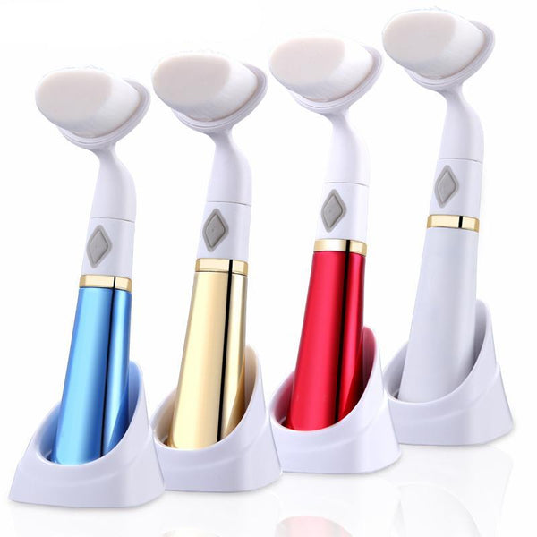 Face Cleansing Brush Massager