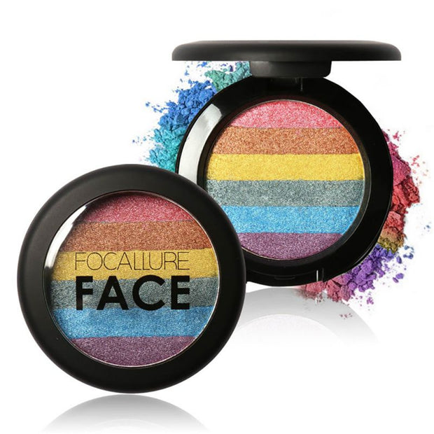 Rainbow Shimmer Pressed Powder