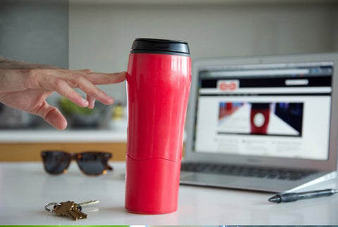 Magic No-Spill Tumbler