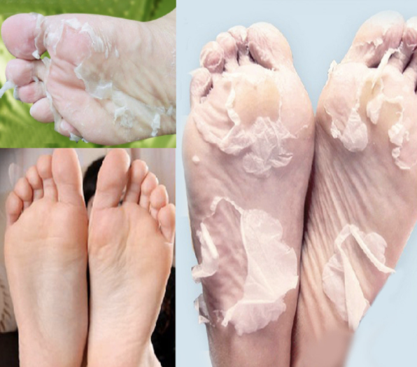 Natural Exfoliating Foot Mask