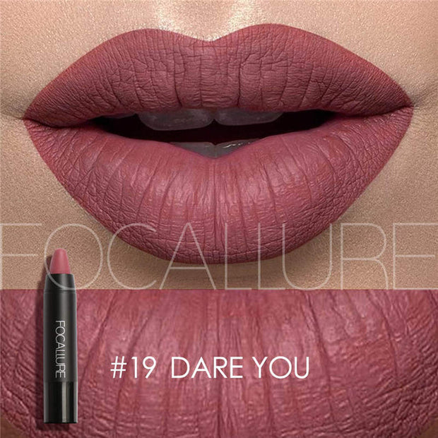Focallure Matte Lipstick - #19 Dare You