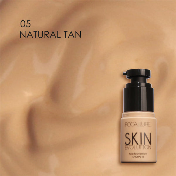 Focallure Face Foundation Makeup Base Liquid #05 Natural Tan